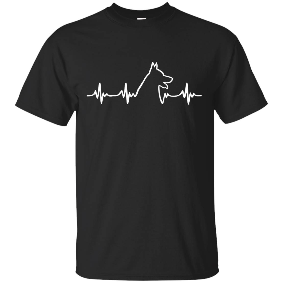 German Shepherd Heartbeat