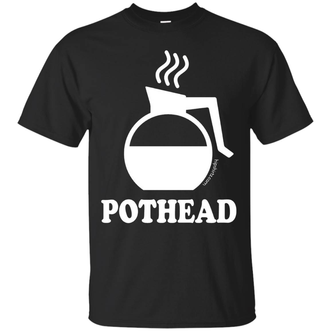 Pothead Coffee Lovers funny tee shirt