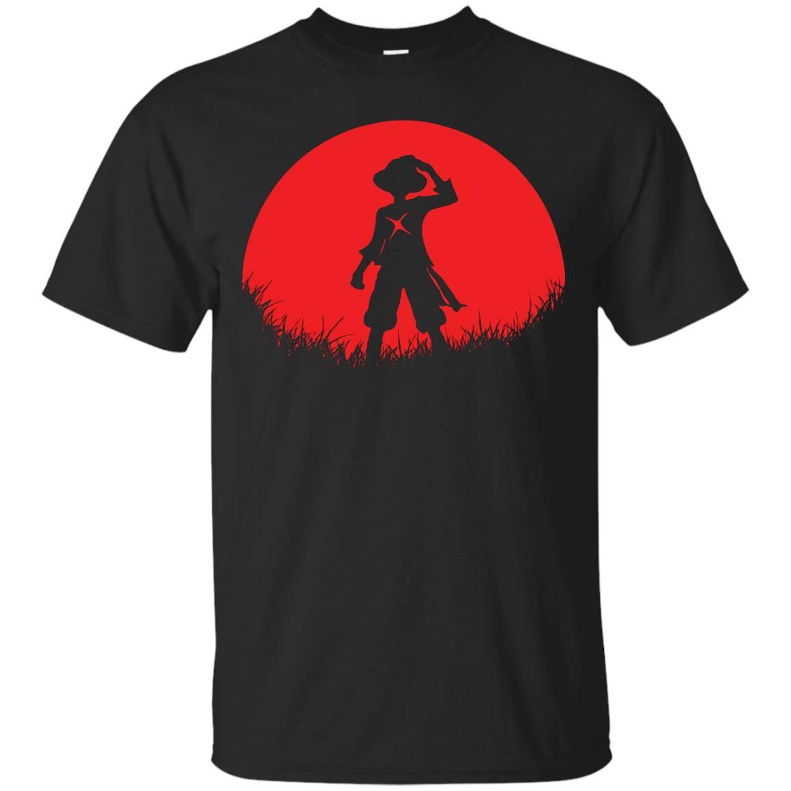 RED MOON STRAW HAT – LUFFY