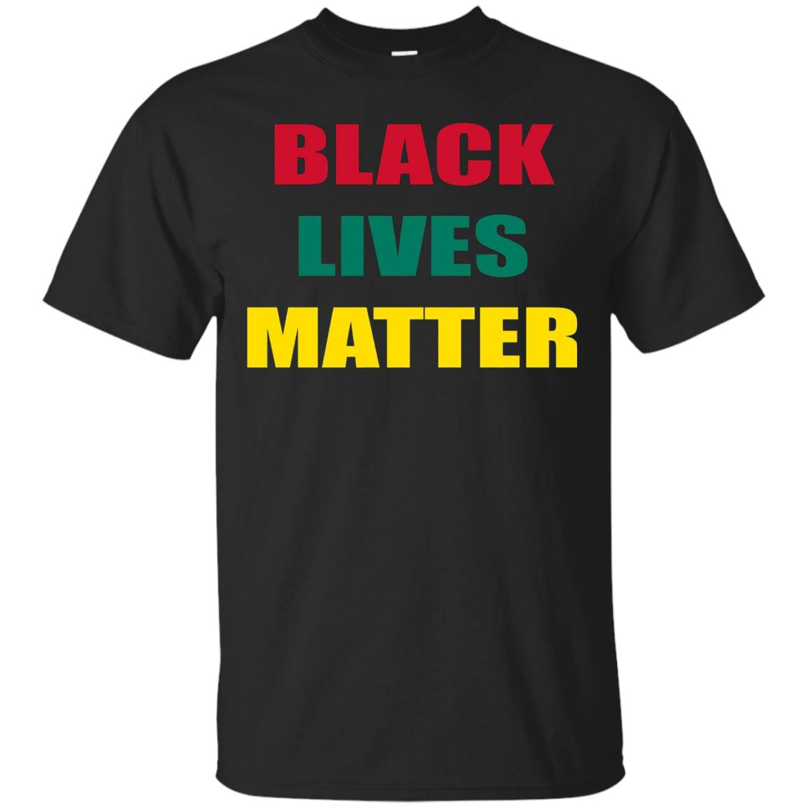 Black Lives Matter T-Shirt – Official Civil Rights Tee