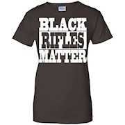 Black Rifles Matter AR-15 T Shirt AR15 TShirt