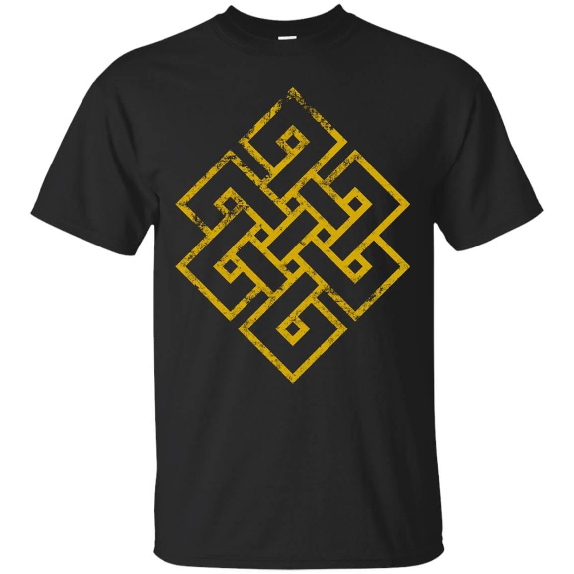 Endless Knot T-Shirt. Buddhism Eternal Knot Buddha Tee