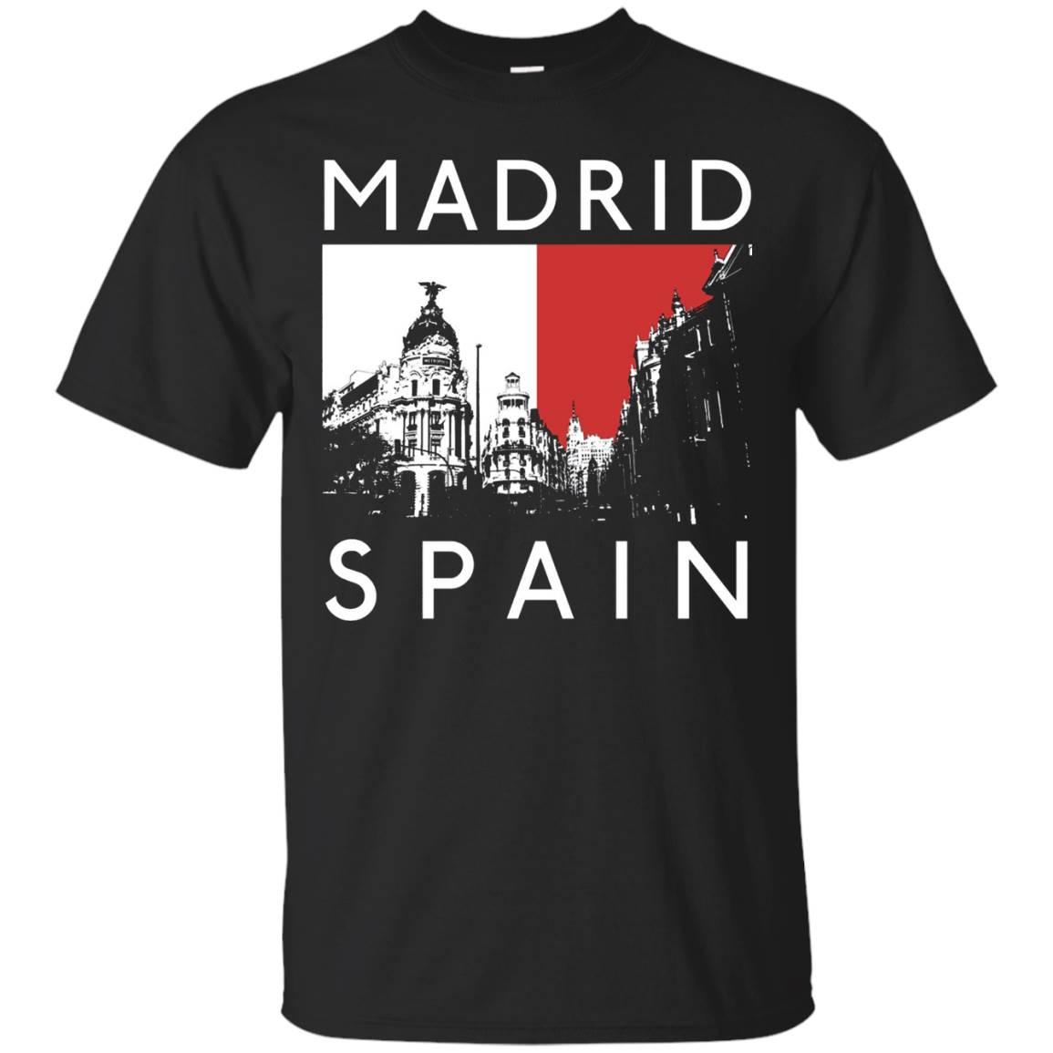 Madrid Spain Spanish Tourist Souvenir Espana Funny T-Shirt