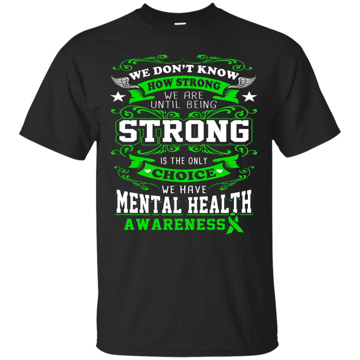Mental Awareness Health Shirt