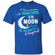 Ovarian Cancer Awareness Shirt For Women Girl