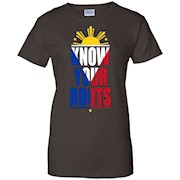 Pinoy Shirt Know Your Roots. Philippines,Filipino Shirt