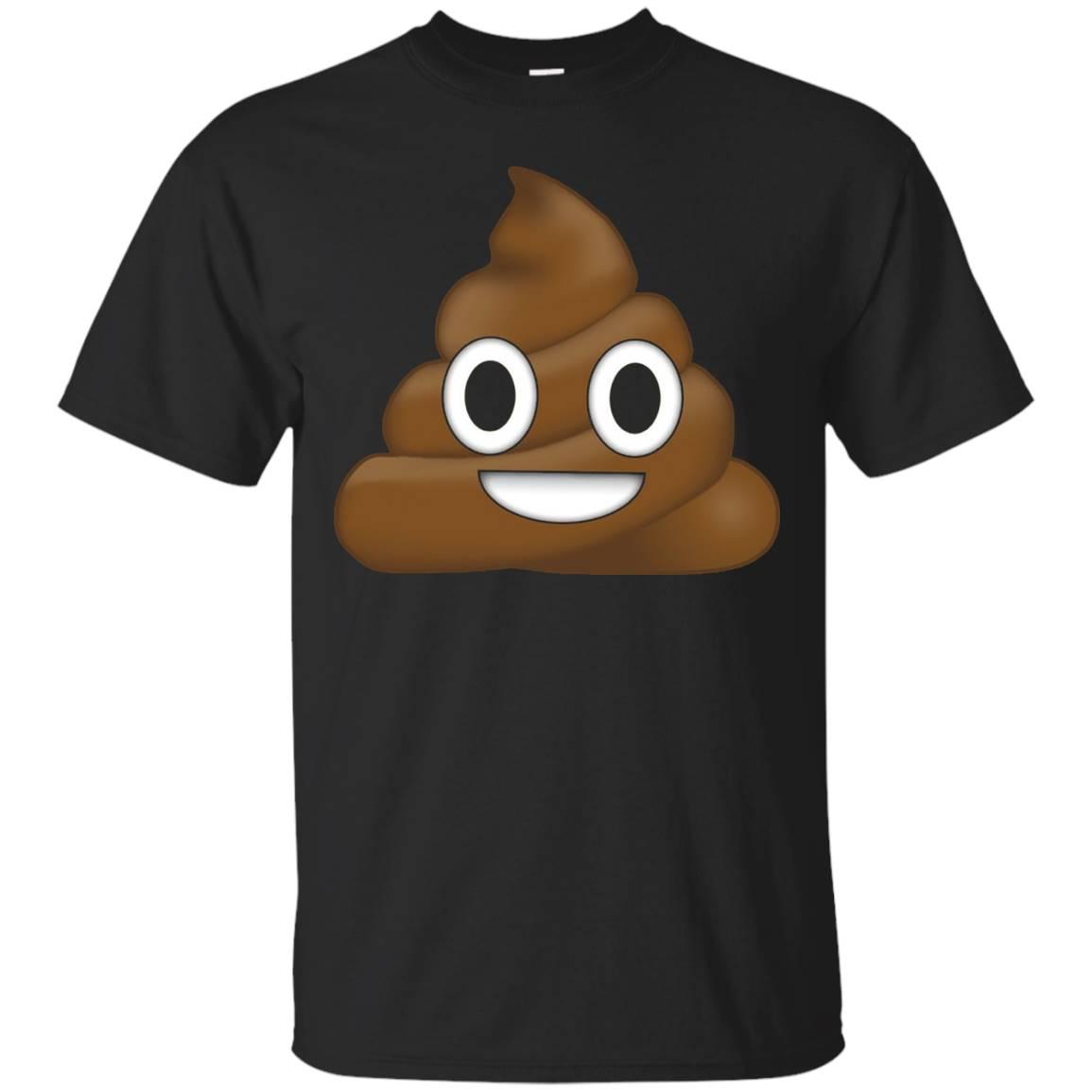 Poop Emoji Shit Emoticon T-Shirt