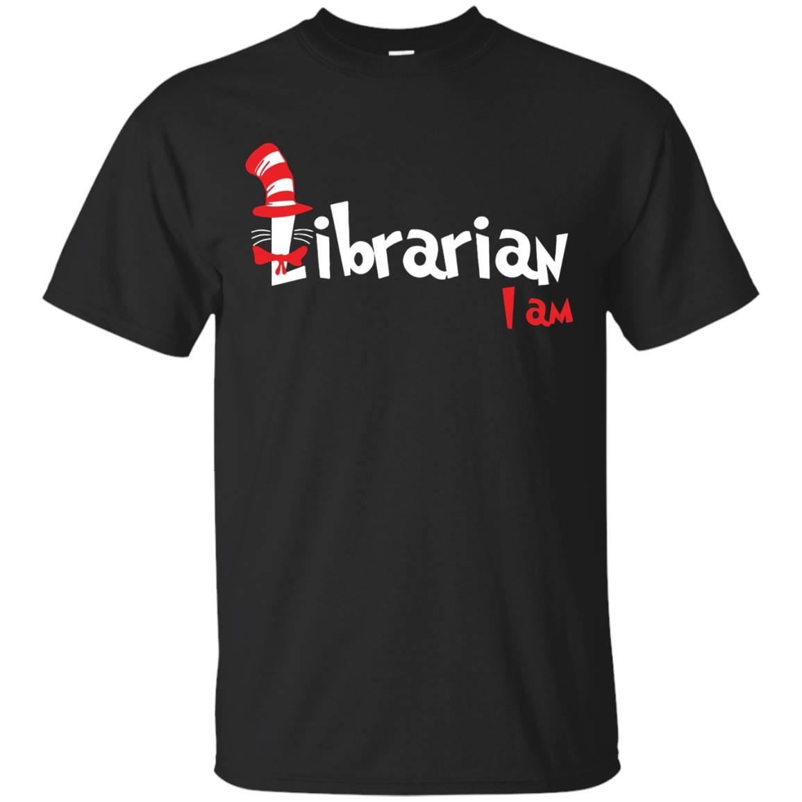 read across america – i am librarian shirt
