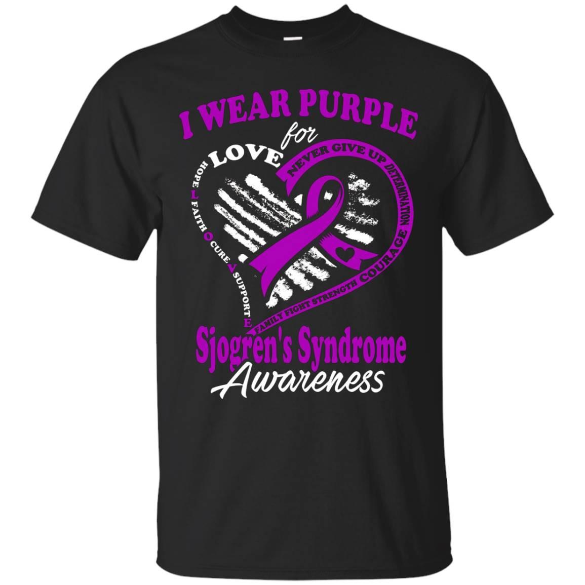 Sjogren's Syndrome Awareness – I Wear Purple For My Hero