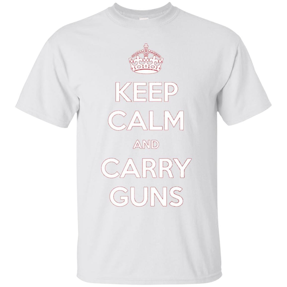 Keep Calm and Carry Guns T-Shirt