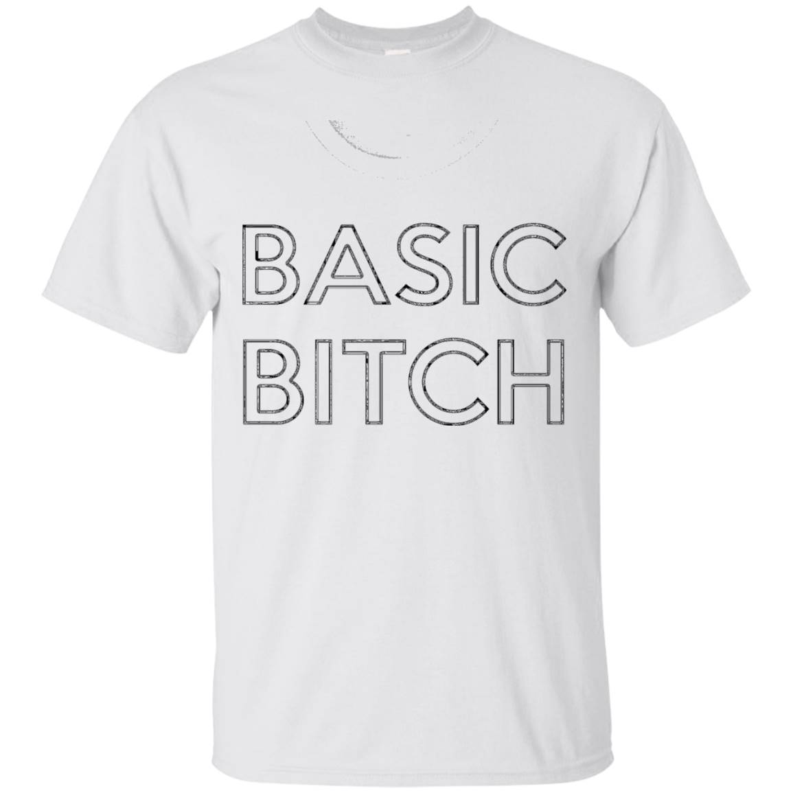 Basic Bitch Funny Short Sleeve Tee Shirt