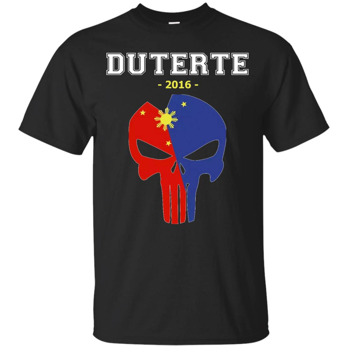 DU30 is my president T-Shirt – Du30 Punisher