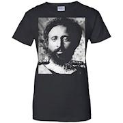 Ethiopian Emperor Haile Selassie Rastafari Portrait T-Shirt