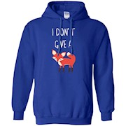 I Don't Give A Fox Funny Humor Shirt