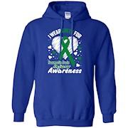 I Wear Green For Traumatic Brain Injury Awareness T-Shirt