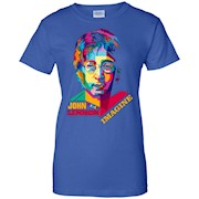 John Lennon Parrod T-Shirt Imagine Design Beatles by Neox