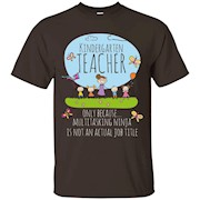 Kindergarten Teacher Aka Multitasking Ninja Funny Kindergarten Teacher T-shirt
