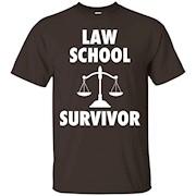 Law School Survivor T-Shirt – Attorney Lawyer Para Grad Gift
