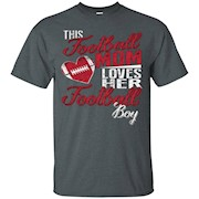 Love shirt! Football Mom loves her football boy