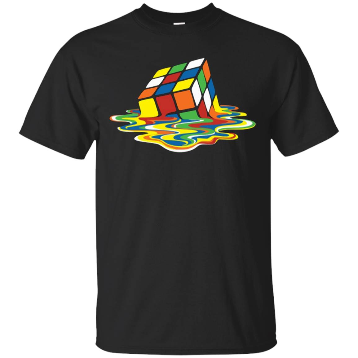Melting Rubix Cube Game T-Shirt