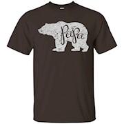 Men's Papa Bear Shirt Graphic Tee
