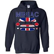 Miniac Mini Inspired Union Jack T-Shirt Cooper R53 R56 F56