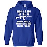 Nobody Needs An AK-47 T-Shirt Tshirt AK47