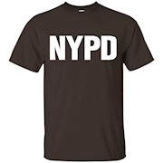 NYPD Official Uniform Employees Work T-Shirt