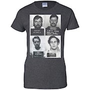 Serial Killers Mugshot T-Shirt