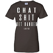 'Chat Shit Get Banged' Leicester Football T-Shirt