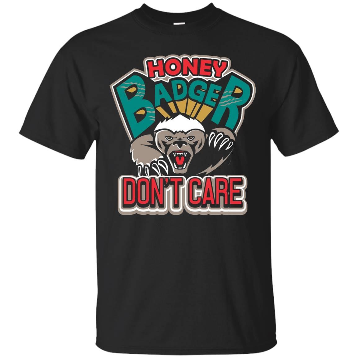 Beekeeper HONEY BADGER DON'T CARE T SHIRT