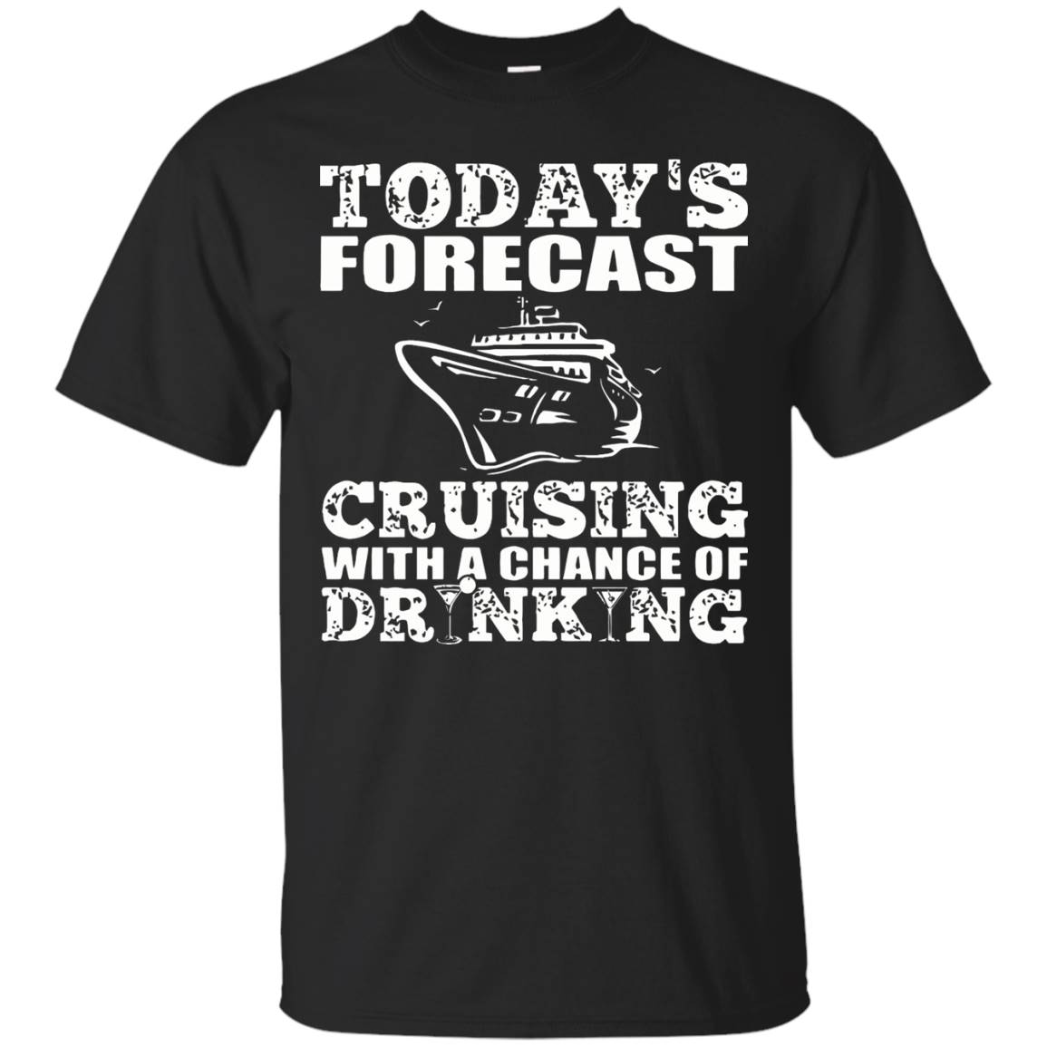 Cruising Shirt – Forecast Cruising With Chance Drinking