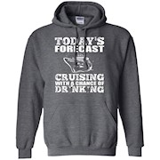 Cruising Shirt – Forecast Cruising With Chance Drinking