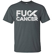 Distressed Style Fck Cancer Men's T Shirt F ck cancer T-Shirts