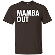 Mamba Out Limited Edition Kobe Farewell Tribute T-Shirt