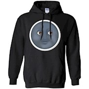 Moon Emoji T-Shirt Face Sun Stars Space Sky Dark Night