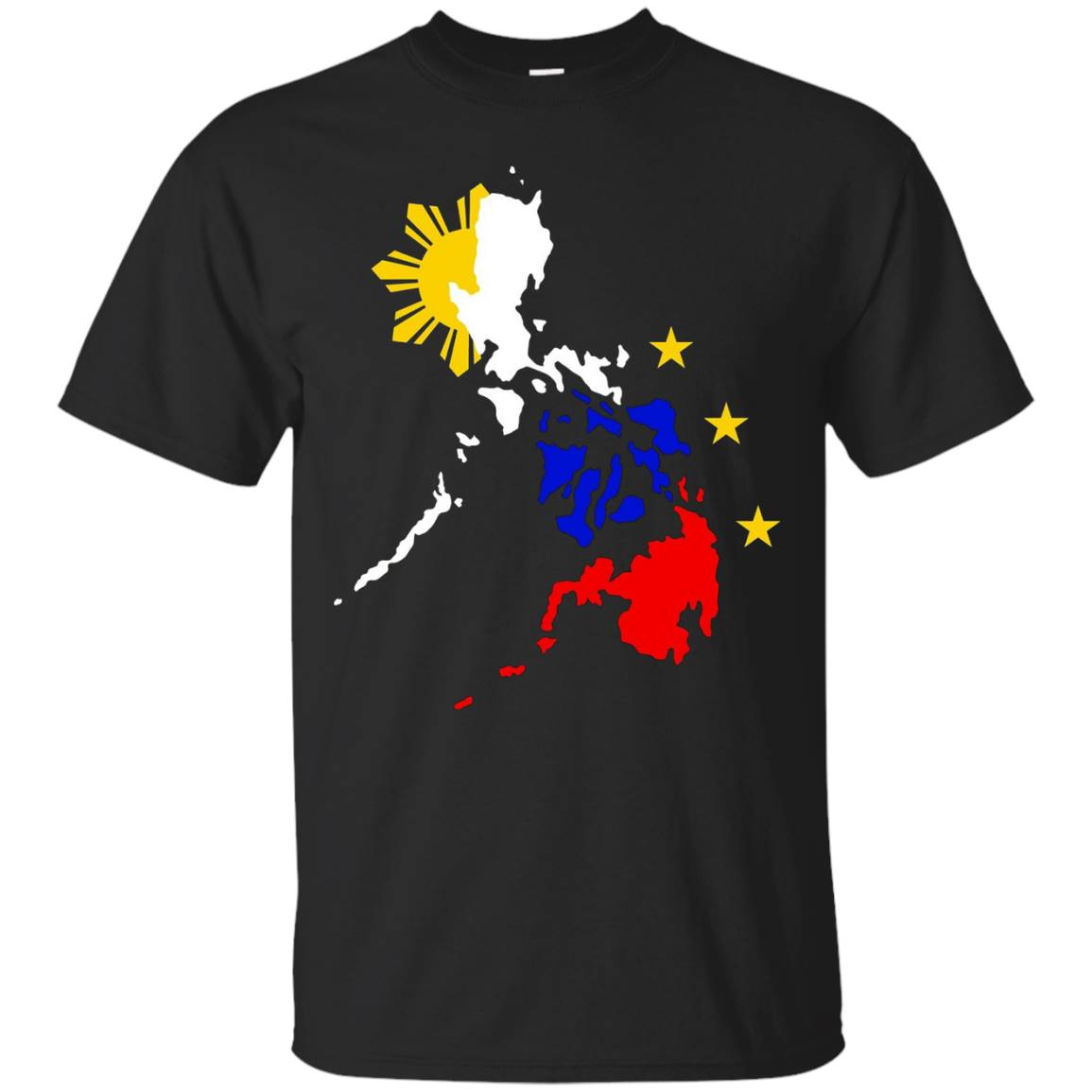 Philippines Map Shirt for Men, Women & Kids
