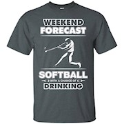 Softball team shirts – Weekend Forecast – Softball