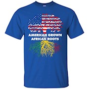 US American Grown with African Africa Roots T-Shirt