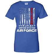 American Flag T-shirt for U.S. Air Force Veterans