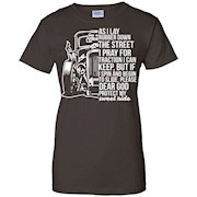 As I Lay Rubber Down The Street T-Shirt