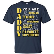 Dad Papa – Super Hero Bat T shirt Man Father Day Gift Iron