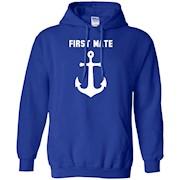 First Mate Anchor Nautical Gift Sailing Ship shirt