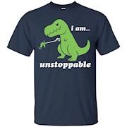 I Am Unstoppable T-Rex Grabber Reacher Tool Short Arms Tee
