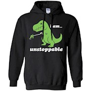 I Am Unstoppable T-Rex Grabber Reacher Tool Short Arms Tee