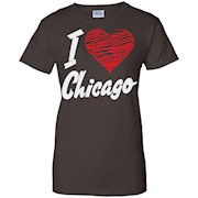 I love chicago USA Tshirt
