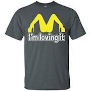 I'm Lovin It SEX College Funny GAY LESBIAN MENS T-Shirt