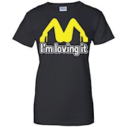 I'm Lovin It SEX College Funny GAY LESBIAN MENS T-Shirt