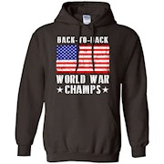 Men's Back to Back World War Champs America T-Shirt