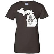 Michigan Mushroom Hunting Shirt Morel Mushroom Gift